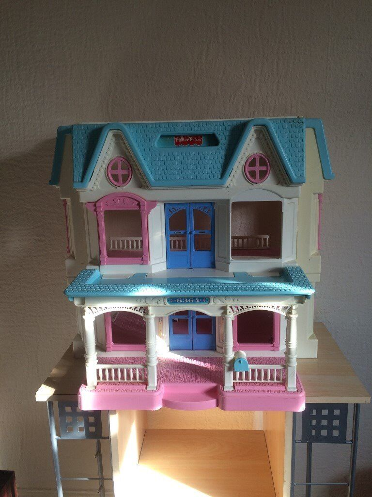 FISHER PRICE BIG DOLL HOUSE, IN GOOD CONDITIONin Swinton, ManchesterGumtree - FISHER PRICE BIG DOLL HOUSE, IN GOOD CONDITION. FROM SMOKE AND PET FREE HOUSE. RECEIVING OPTIONS CAN BE COLLECT, I CAN DELIVER WITHIN 15 MILES AT LOWEST CHARGES. OR YOU CAN ALSO ARRANGE A COURIER BUT WILL NOT BE HELD RESPONSIBLE IF MISSING OR...