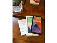 Apple iPhone X Silver 256GB Immaculate Condition With Apple Care Receipt Unlocked