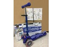 Kids Micro Mini Deluxe – Scooter for Children 2 To 5 Years, Blue
