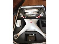 DJI phantom 3 standard drone plus accessories