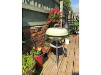 WEBER kettle BBQ- Sage Green ☀️
