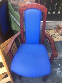 4 dining chairs solid wood