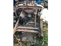 Ford D series engine and gearbox (can be started)