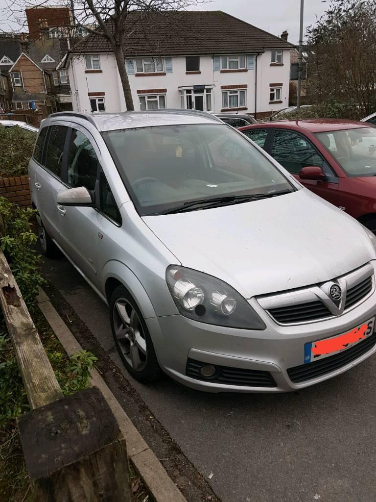 Vauxhall Zafira b sri | in Blandford Forum, Dorset | Gumtree