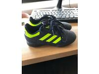 Kids Adidas Astro trainers football size 12