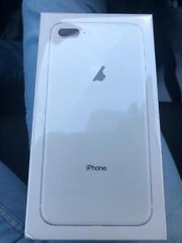 iPhone 8 Plus 64gb brand new