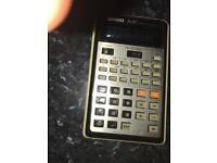 Vintage Casio fx102 Scientific Calculator