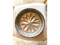 Copper French Flan baking mold