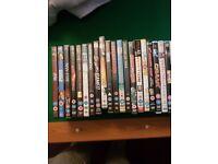 45 DVD's mixed genre