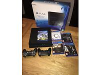 PS4 1TB EDITION + 5 GAMES