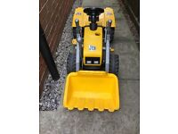 Toy Yellow JCB Digger Tractor Ride On