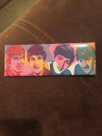 The Beatles Andy Warhol magnet