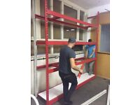 WAREHOUSE SHELVING IDEAL FOR ALL USES MUST BE SEEN