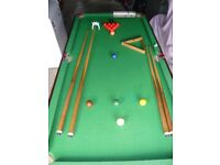 Half Size Snooker Table