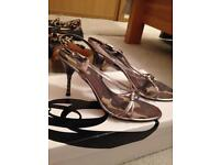Heeled shoes by nine west size 4
