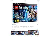 PS3 LEGO DIMENSION STARTER PACK - BRAND NEW