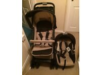 New travel system pram