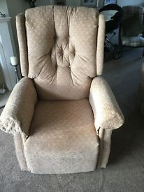 Rise & Recliner Chair , Robin Hood Counrty manufacture .