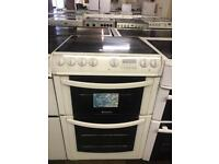 HOTPOINT ELECTRIC COOKER-60 CM WIDE WITH GUARANTEE