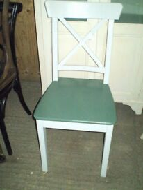 Dual Colour Cottage Dining Chair