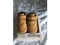 Baby boy firetrap shoes
