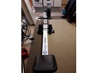 ROGER BLACK - Air Rower - Rowing Machine - Used, Good Condition