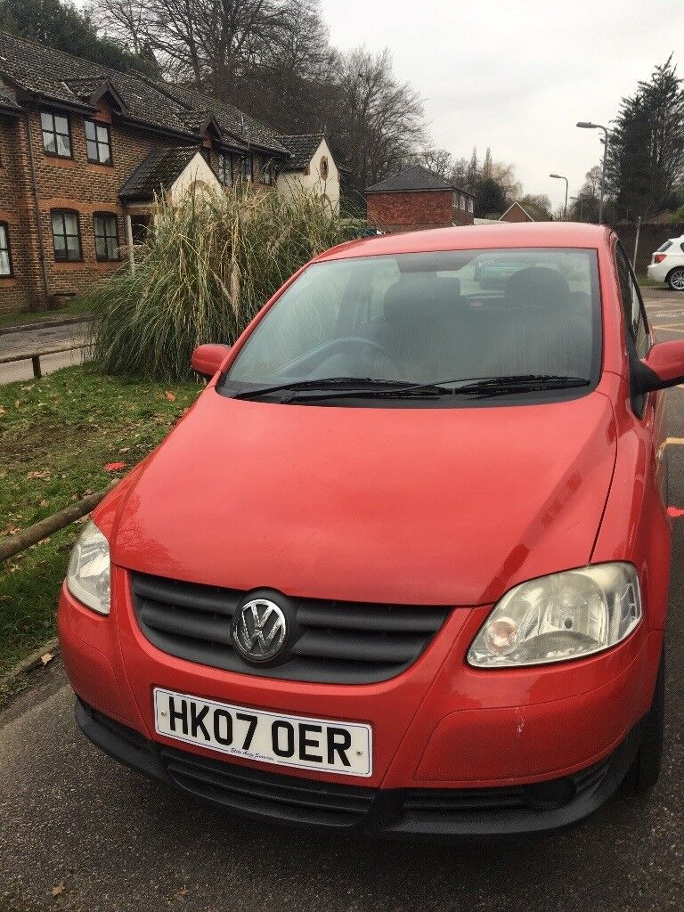 Volkswagen Fox, reliable car, 12 months m.o.t, just had a full service