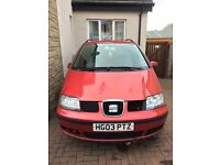 Seat Alhambra 1.9 S TDi 7 Seater Spares/Repairs or nice wee project