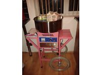 Candy floss machine and cart ..excellent condition
