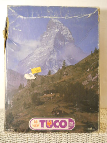 TUCO Artistic Series 250+ Pc Matterhorn Puzzle Munro Games Factory Sealed #8250