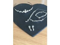 Jon Richard wedding tiara and jewellery