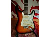 Vintage JHS Encore electric stratocaster guitar with free soft case