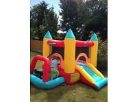 Bouncy castle used