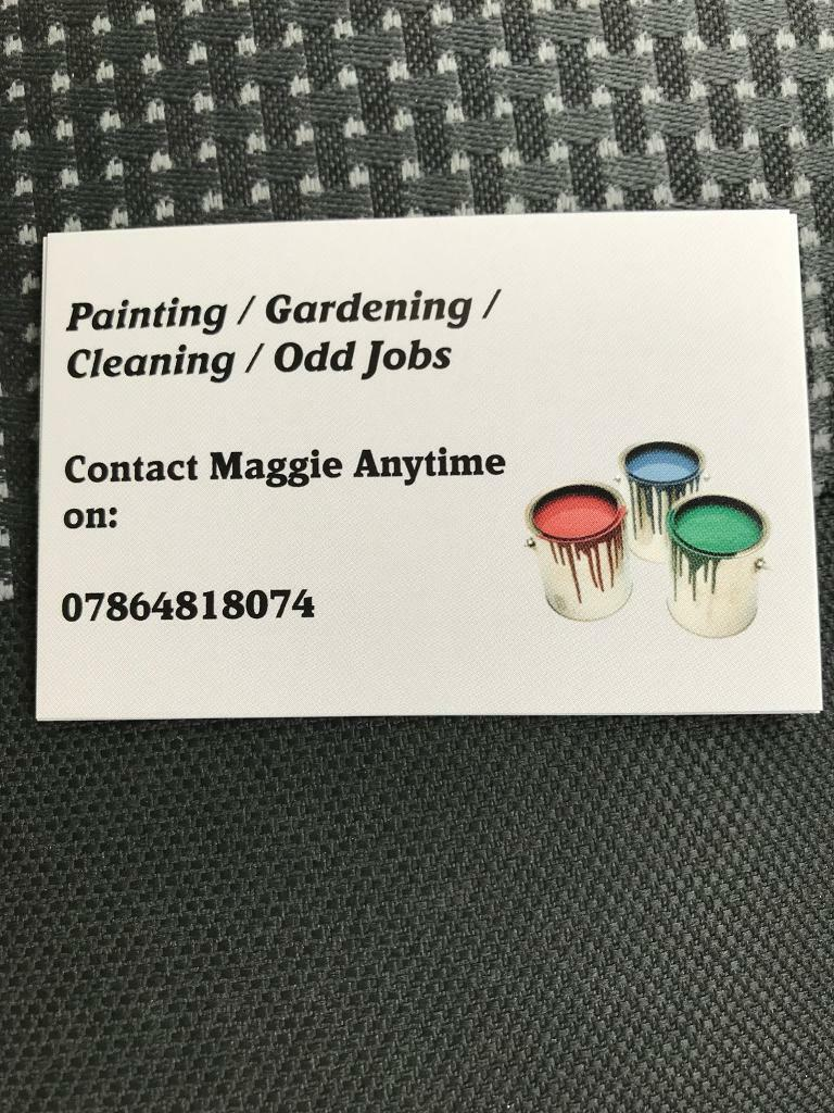 Painting & gardening