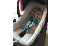Limited Edition Maxi Cosi Pebble Car Seat - Baby Carrier