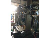 Downham Milling Machine Mark3