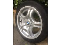 For sale aset BMW alloy