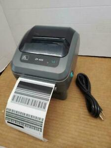 Zebra ZP450 Thermal Label Printer 1501-0000A usb par serial  ajustable 4 Inch  QTY AVAILABLE
