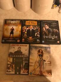 5 x DVD's