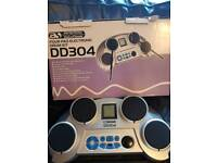 Acoustic Solutions 4 Pad Electronic Drum Kit DD304