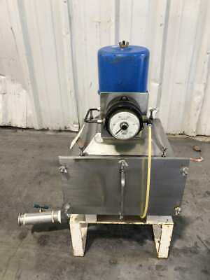 5 Gallon Stainless Plastic Resinpellet Dryer Raw Material Tank 0-100mm H2o