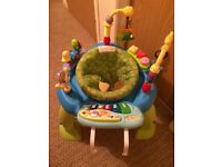 Baby items for sale. Baby bouncer, chair and 2 walkers