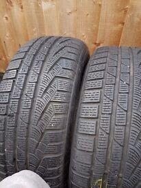 Winter tyres 225/55/17