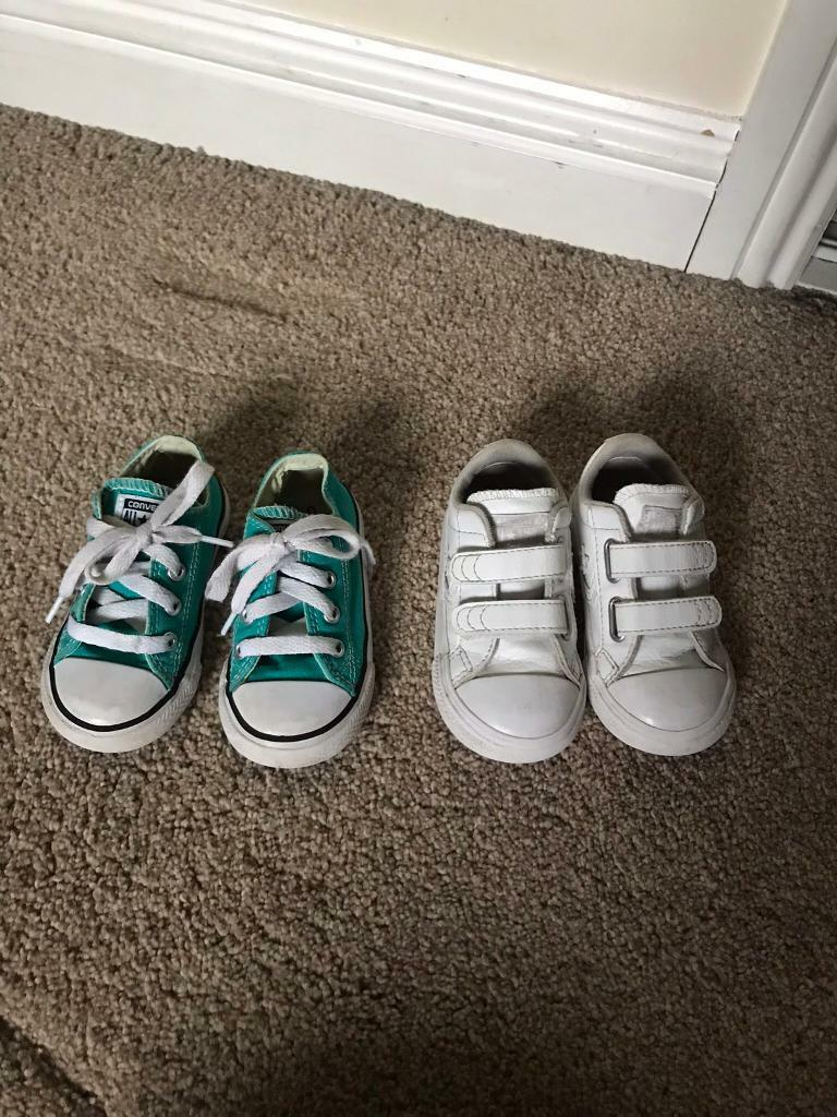 8ccc268e5e3 Toddler Converse size 6