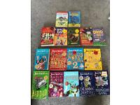 Book collection. 16 books. David Walliams