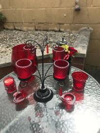 Candle holders & decoration