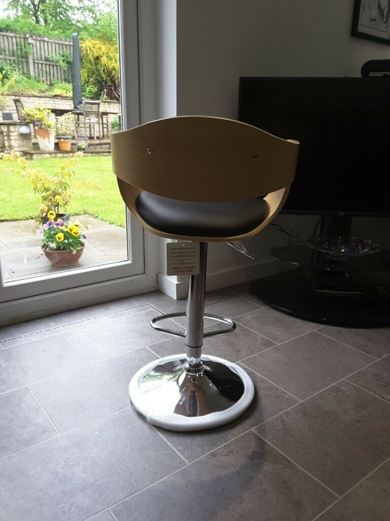 Amazing Height Adjustable Swivel Bar Stool In Glenrothes Fife Gumtree Pabps2019 Chair Design Images Pabps2019Com