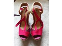 Ladies Wedge shoes size 5