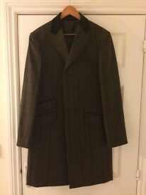 Men's Tweed Coat