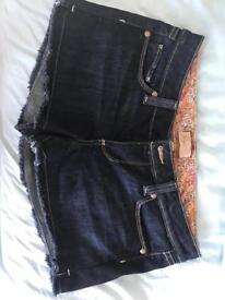 Designer shorts by Paige ( new) cost around £100